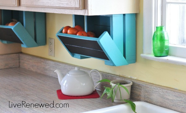 Interior Kitchen Countertop Storage how to completely clear off your kitchen counters diy storage boxes liverenewed com