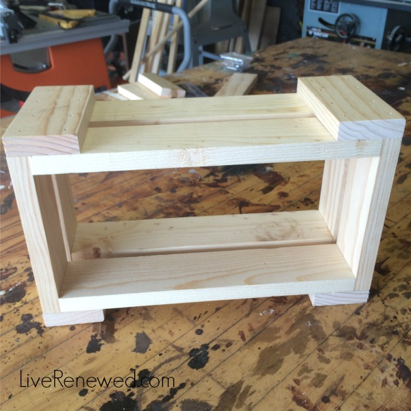 Step 2 - DIY Kitchen Storage Bins