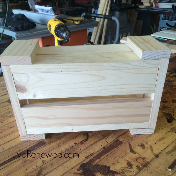 Step 3 - DIY Kitchen Storage Bins