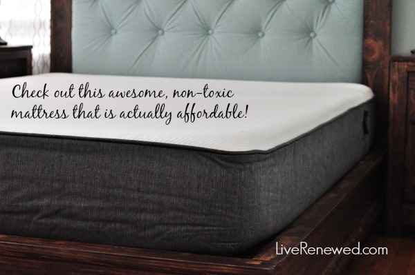 Looking for a non-toxic mattress that is actually affordable? Check out this awesome mattress! at LiveRenewed.com