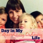I'm sharing photos from a regular day in my regular life. My days are not anything special or amazing, but I live an extraordinary ordinary life. Come peek at a day in my life and find out why! at LiveRenewed.com