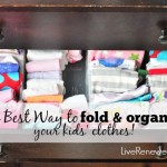 The Best Way to Fold and Organize Your Kids' Clothes!
