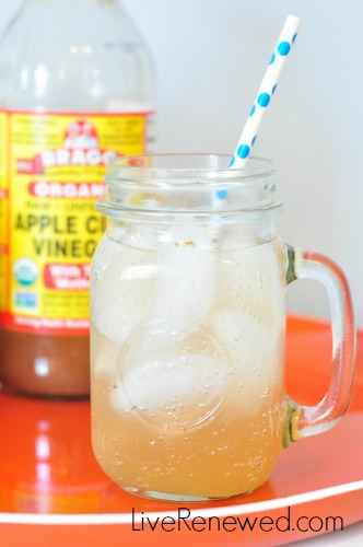 Apple Cider Vinegar Drink at LiveRenewed.com