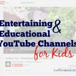 Do your kids want to learn a new hobby or try some fun science experiments this summer? This list of awesome YouTube channels for kids will help get them started! at LiveRenewed.com