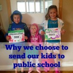 Why we choose to send our kids to public school