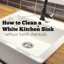 How to Clean a White Kitchen Sink Without Harsh Chemicals