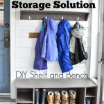 Winter Gear Storage Solution: Simple DIY Shelf & Bench