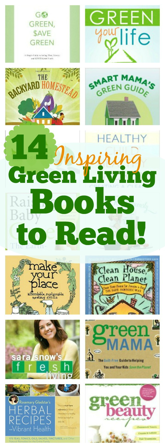 14 Inspiring Green Living Books To Read