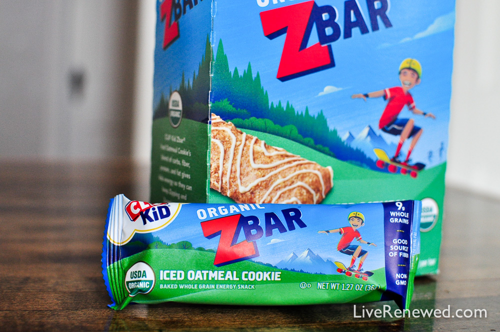 CLIF Kid Zbar® nutritious snack that kids love, made from organic ingredients