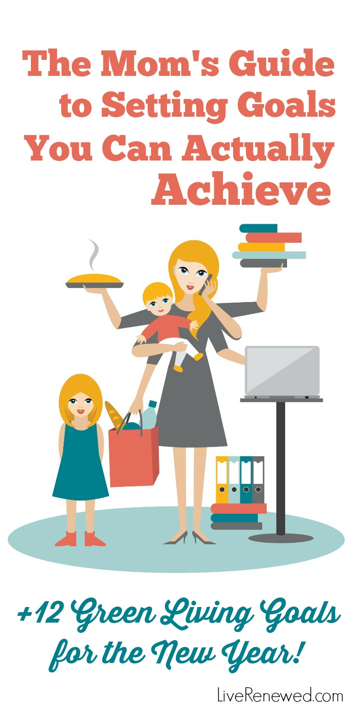 As a mom, it can be hard to find time to set goals you can actually achieve. Here's the goal setting secret I found to help me set and achieve my goals!