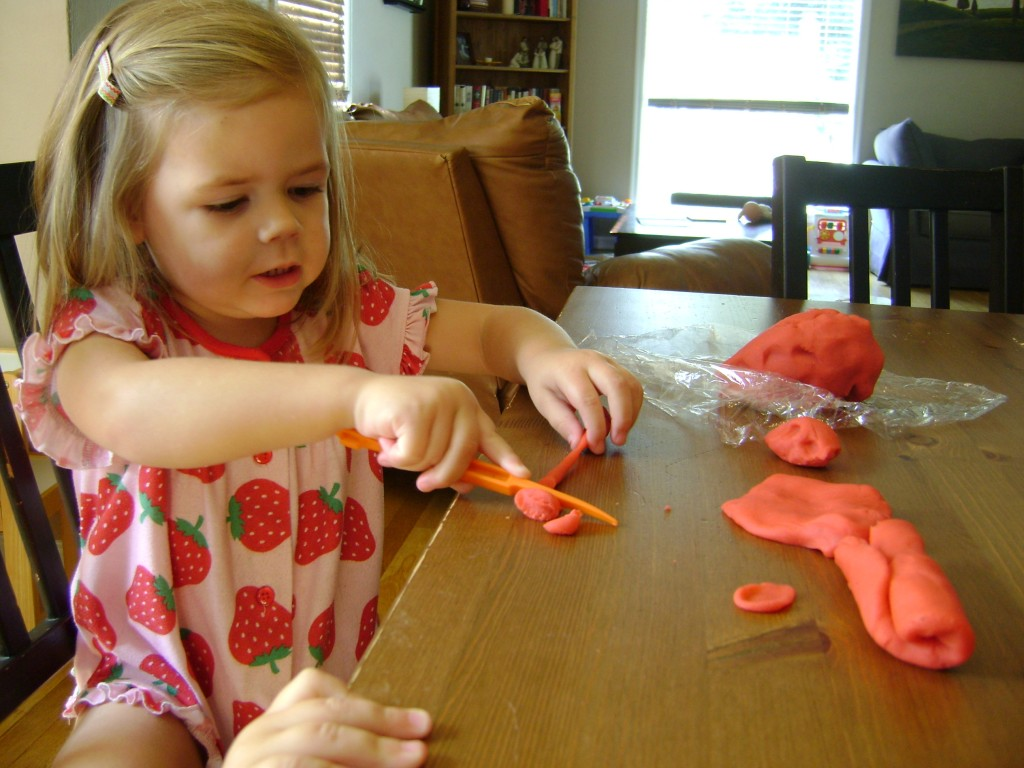 Playing with Playdough 2