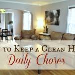 Keeping a Clean Home: Daily Chores
