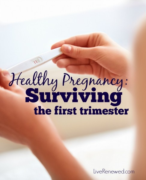 The first trimester of pregnancy often brings morning sickness, exhaustion, lack of motivation, and just a general unwell feeling. The days are long and can feel almost impossible to get through. Here are some tips for surviving the first trimester.