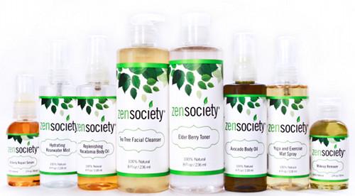 zen society skincare