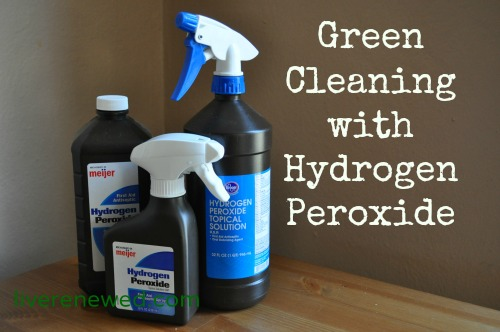 cleaning with hydrogen peroxide