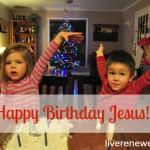 Celebrating Jesus this Christmas