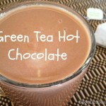 Green Tea Vegan Hot Chocolate