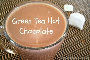 Green Tea Vegan Hot Chocolate