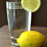 start your day with lemon water