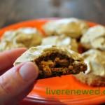 healthier pumpkin cookies