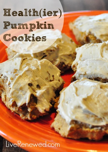 Health(ier) Pumpkin Cookies - these are delicious!