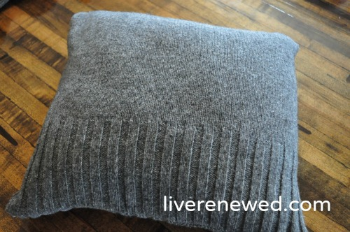 upcycled pillow cover 8