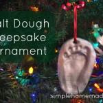 At Simple Homemade: Christmas Keepsake Ornament