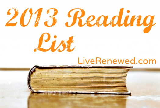 My 2013 Reading List