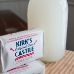 how to tourn solid bar castile soap into liquid castile soap