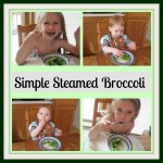 Simple Steamed Brocolli