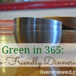 Green in 365: The Dining Room – Eco-Friendly Dinnerware