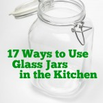 Check out these great ways to reuse glass jars in your kitchen and around your home! Go green and save money by reusing your glass jars.