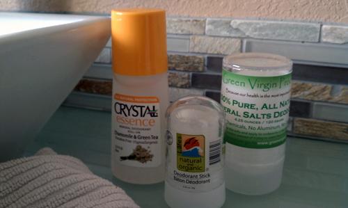 Choosing Natural Deodorant