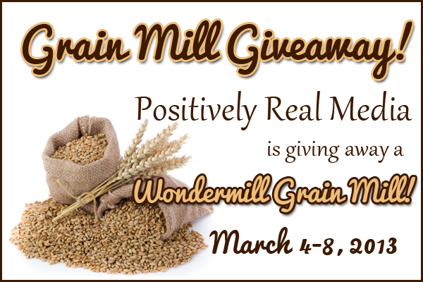 Wondermill Grain Mill Giveaway: March 4-8 2013