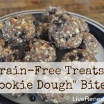 "Grain-Free Treats: ""Cookie Dough"" Bites"