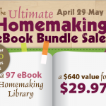 It's Time! The Ultimate Homemaking Ebook Bundle Sale is Here!!