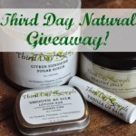 Giveaway: Third Day Naturals {Green in 365}