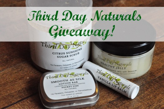Third Day Naturals Giveaway!