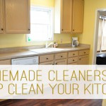 green cleaning kitchen