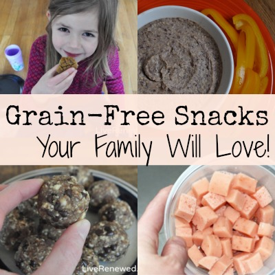 grain free snacks