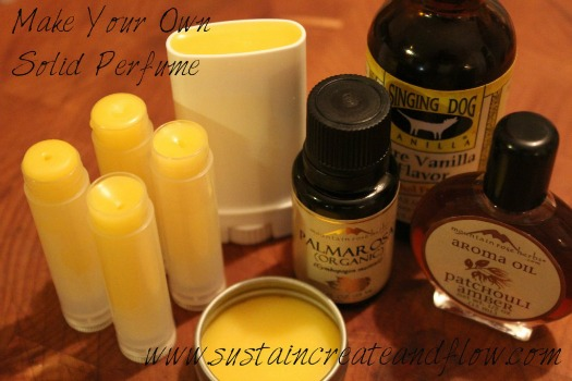 make your own solid perfume