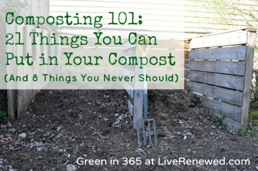 Composting 101: 21 Things You Can Put in Your Compost (And 8 Things You Never Should)