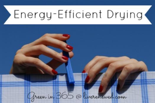 Energy-Efficient Drying