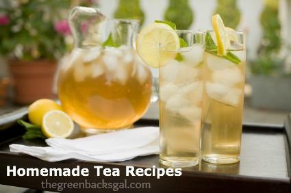 Homemade Tea Recipes