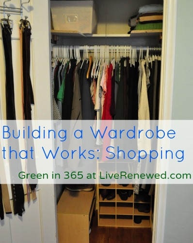 Building a Closet that Works for You: Shopping