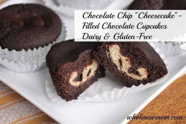 Double Chocolate Chip Cupcakes from Whole New Mom