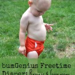 bumGenius Freetime Cloth Diaper: Review and Giveaway! {Green in 365}