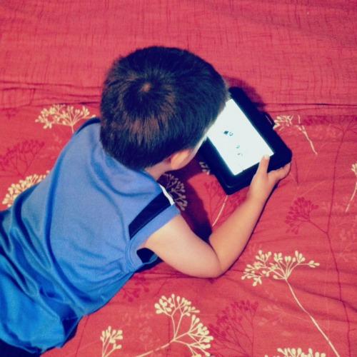 Kids Watching Netflix