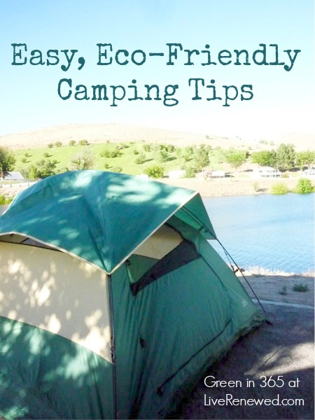 Easy, Eco-Friendly Camping Tips