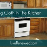 Using Cloth in the Kitchen {Green in 365}